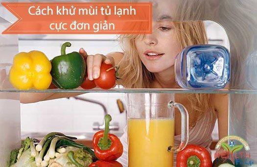 Mẹo khử mùi hôi tủ lạnh cực đơn giản